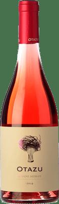 9,95 € Kostenloser Versand | Rosé-Wein Señorío de Otazu D.O. Navarra Navarra Spanien Merlot Flasche 75 cl