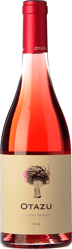 9,95 € Free Shipping | Rosé wine Señorío de Otazu D.O. Navarra Navarre Spain Merlot Bottle 75 cl