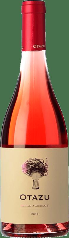 9,95 € Envío gratis | Vino rosado Señorío de Otazu D.O. Navarra Navarra España Merlot Botella 75 cl