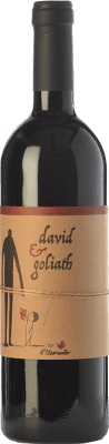 23,95 € Free Shipping | Red wine Sexto Elemento David & Goliath Crianza Spain Bobal Bottle 75 cl