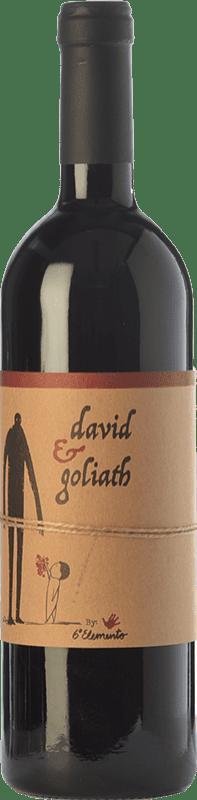 19,95 € Free Shipping | Red wine Sexto Elemento David & Goliath Crianza Spain Bobal Bottle 75 cl