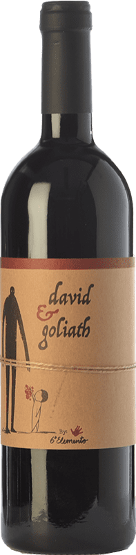 19,95 € Envío gratis   Vino tinto Sexto Elemento David & Goliath Crianza España Bobal Botella 75 cl