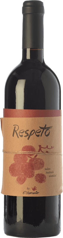 27,95 € Free Shipping | Red wine Sexto Elemento Respeto Crianza Spain Bobal Bottle 75 cl