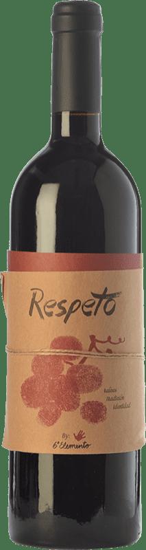 27,95 € Envoi gratuit | Vin rouge Sexto Elemento Respeto Crianza Espagne Bobal Bouteille 75 cl