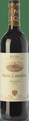 9,95 € Free Shipping | Red wine Sierra Cantabria Crianza D.O.Ca. Rioja The Rioja Spain Tempranillo, Grenache, Graciano Bottle 75 cl