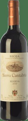 16,95 € Free Shipping | Red wine Sierra Cantabria Reserva D.O.Ca. Rioja The Rioja Spain Tempranillo, Graciano Bottle 75 cl