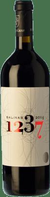 72,95 € Free Shipping | Red wine Sierra Salinas 1237 Reserva 2009 D.O. Alicante Valencian Community Spain Cabernet Sauvignon, Monastrell, Grenache Tintorera Bottle 75 cl