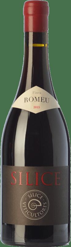 96,95 € Free Shipping | Red wine Sílice Finca Romeu Crianza Spain Mencía, Grenache Tintorera Bottle 75 cl