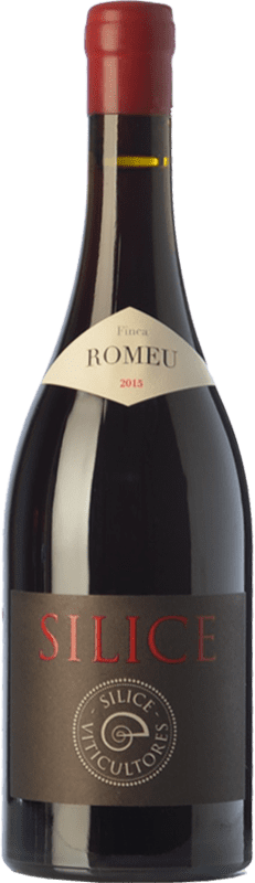96,95 € Envío gratis | Vino tinto Sílice Finca Romeu Crianza España Mencía, Garnacha Tintorera Botella 75 cl