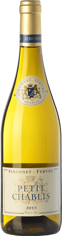 19,95 € Free Shipping | White wine Simonnet-Febvre Petit A.O.C. Chablis Burgundy France Chardonnay Bottle 75 cl