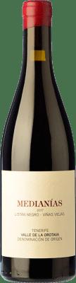 21,95 € Free Shipping | Red wine Soagranorte Suertes del Marqués Medianías Crianza D.O. Valle de la Orotava Canary Islands Spain Listán Black, Tintilla, Vijariego Black Bottle 75 cl
