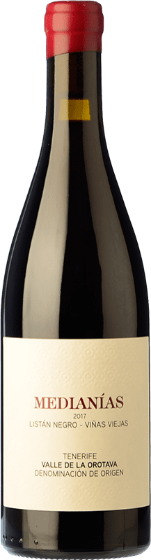 19,95 € Free Shipping | Red wine Soagranorte Suertes del Marqués Medianías Crianza D.O. Valle de la Orotava Canary Islands Spain Listán Black, Tintilla, Vijariego Black Bottle 75 cl