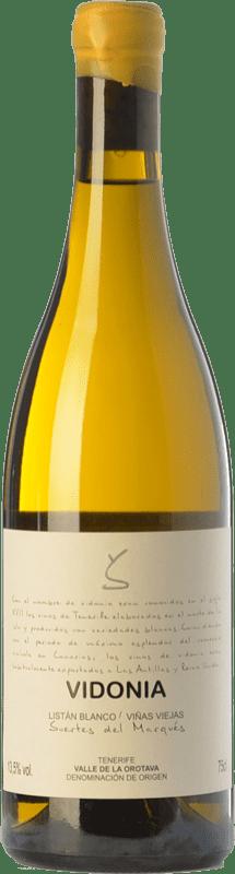 29,95 € Envío gratis | Vino blanco Soagranorte Suertes del Marqués Vidonia Crianza D.O. Valle de la Orotava Islas Canarias España Listán Blanco Botella 75 cl