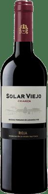 9,95 € Free Shipping | Red wine Solar Viejo Crianza D.O.Ca. Rioja The Rioja Spain Tempranillo Bottle 75 cl