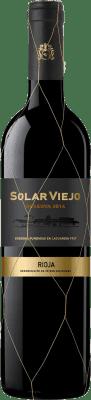 16,95 € Free Shipping | Red wine Solar Viejo Reserva D.O.Ca. Rioja The Rioja Spain Tempranillo, Graciano Bottle 75 cl