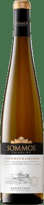 11,95 € Envoi gratuit | Vin blanc Sommos Colección Crianza D.O. Somontano Aragon Espagne Gewürztraminer Bouteille 75 cl