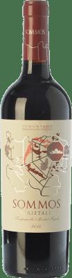 9,95 € Kostenloser Versand | Rotwein Sommos Varietales Crianza D.O. Somontano Aragón Spanien Tempranillo, Merlot, Syrah, Cabernet Sauvignon Flasche 75 cl