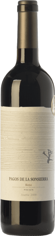 17,95 € Free Shipping | Red wine Sonsierra Pagos Reserva D.O.Ca. Rioja The Rioja Spain Tempranillo Bottle 75 cl