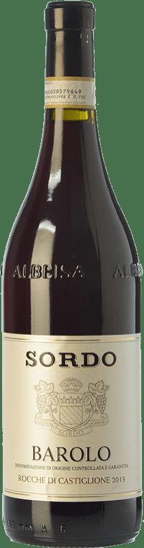 39,95 € Free Shipping | Red wine Sordo Rocche di Castiglione D.O.C.G. Barolo Piemonte Italy Nebbiolo Bottle 75 cl