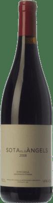 55,95 € Free Shipping | Red wine Sota els Àngels Crianza 2008 D.O. Empordà Catalonia Spain Cabernet Sauvignon, Samsó, Carmenère Bottle 75 cl