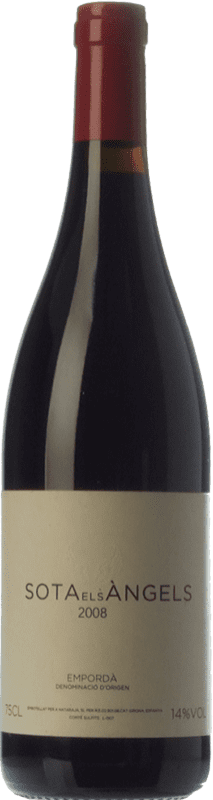 45,95 € Free Shipping | Red wine Sota els Àngels Crianza D.O. Empordà Catalonia Spain Cabernet Sauvignon, Samsó, Carmenère Bottle 75 cl