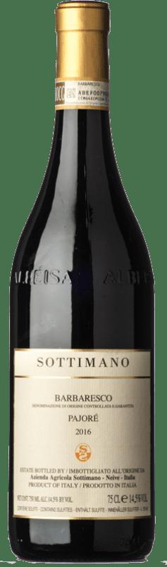 71,95 € Free Shipping | Red wine Sottimano Pajorè D.O.C.G. Barbaresco Piemonte Italy Nebbiolo Bottle 75 cl