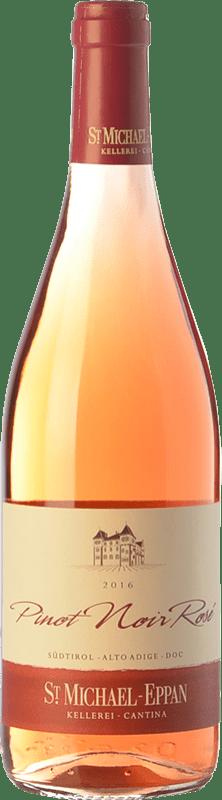 13,95 € Envío gratis | Vino rosado St. Michael-Eppan Rosé D.O.C. Alto Adige Trentino-Alto Adige Italia Pinot Negro Botella 75 cl