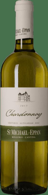 13,95 € Envío gratis | Vino blanco St. Michael-Eppan D.O.C. Alto Adige Trentino-Alto Adige Italia Chardonnay Botella 75 cl