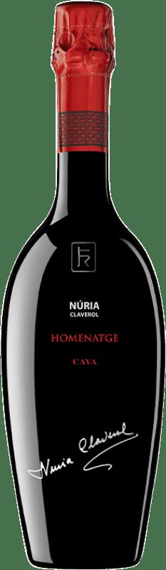 42,95 € Envoi gratuit | Blanc moussant Sumarroca Núria Claverol Homenatge Gran Reserva D.O. Cava Catalogne Espagne Xarel·lo, Chardonnay, Parellada Bouteille 75 cl