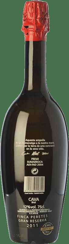 46,95 € Free Shipping | White sparkling Sumarroca Núria Claverol Homenatge Gran Reserva D.O. Cava Catalonia Spain Xarel·lo, Chardonnay, Parellada Bottle 75 cl