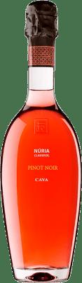 29,95 € Free Shipping | Rosé sparkling Sumarroca Núria Claverol Rosé Brut Reserva D.O. Cava Catalonia Spain Pinot Black Bottle 75 cl