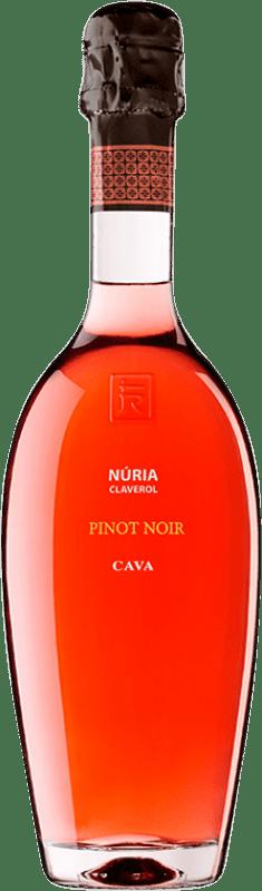 29,95 € Envoi gratuit | Rosé moussant Sumarroca Núria Claverol Rosé Brut Reserva D.O. Cava Catalogne Espagne Pinot Noir Bouteille 75 cl