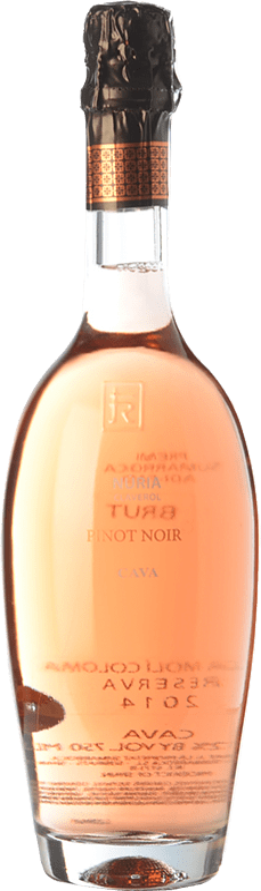 17,95 € Free Shipping | Rosé sparkling Sumarroca Núria Claverol Rosé Brut Reserva D.O. Cava Catalonia Spain Pinot Black Bottle 75 cl