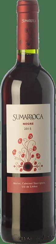 4,95 € Envoi gratuit | Vin rouge Sumarroca Negre Joven D.O. Penedès Catalogne Espagne Tempranillo, Merlot, Cabernet Sauvignon Bouteille 75 cl