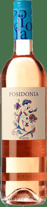 5,95 € Free Shipping | Rosé wine Sumarroca Posidonia Joven D.O. Penedès Catalonia Spain Tempranillo Bottle 75 cl