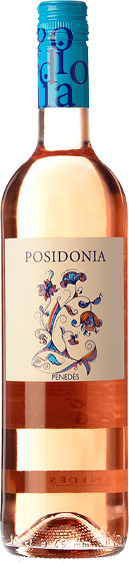 6,95 € Envoi gratuit | Vin rose Sumarroca Posidonia Joven D.O. Penedès Catalogne Espagne Tempranillo Bouteille 75 cl