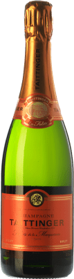 68,95 € Free Shipping | White sparkling Taittinger Les Folies de la Marquetterie A.O.C. Champagne Champagne France Pinot Black, Chardonnay Bottle 75 cl | Thousands of wine lovers trust us to get the best price guarantee, free shipping always and hassle-free shopping