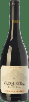 36,95 € Free Shipping | Red wine Tardieu-Laurent Vieilles Vignes Crianza A.O.C. Vacqueyras Rhône France Syrah, Grenache Bottle 75 cl
