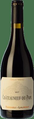 72,95 € Free Shipping | Red wine Tardieu-Laurent Crianza A.O.C. Châteauneuf-du-Pape Rhône France Syrah, Grenache, Cinsault Bottle 75 cl
