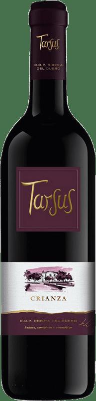 14,95 € Envoi gratuit | Vin rouge Tarsus Quinta Crianza D.O. Ribera del Duero Castille et Leon Espagne Tempranillo Bouteille 75 cl