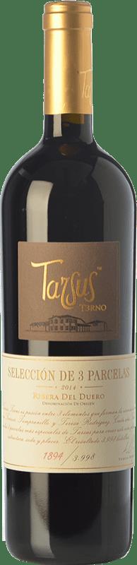 38,95 € Envoi gratuit | Vin rouge Tarsus Terno Crianza D.O. Ribera del Duero Castille et Leon Espagne Tempranillo Bouteille 75 cl