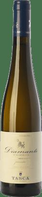 24,95 € Envío gratis | Vino dulce Tasca d'Almerita Diamante I.G.T. Terre Siciliane Sicilia Italia Gewürztraminer, Moscatel Blanco Media Botella 50 cl