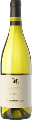 24,95 € Envío gratis | Vino blanco Tasca d'Almerita Grillo di Mozia I.G.T. Terre Siciliane Sicilia Italia Grillo Botella 75 cl
