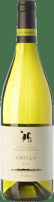 27,95 € Free Shipping | White wine Tasca d'Almerita Grillo di Mozia I.G.T. Terre Siciliane Sicily Italy Grillo Bottle 75 cl