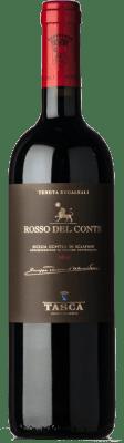 47,95 € Envío gratis | Vino tinto Tasca d'Almerita Rosso del Conte D.O.C. Contea di Sclafani Sicilia Italia Nero d'Avola Botella 75 cl