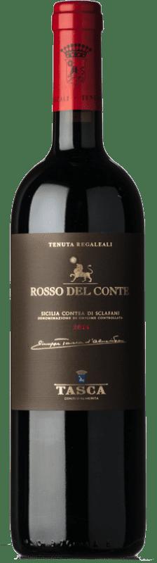 47,95 € Envoi gratuit   Vin rouge Tasca d'Almerita Rosso del Conte D.O.C. Contea di Sclafani Sicile Italie Nero d'Avola Bouteille 75 cl