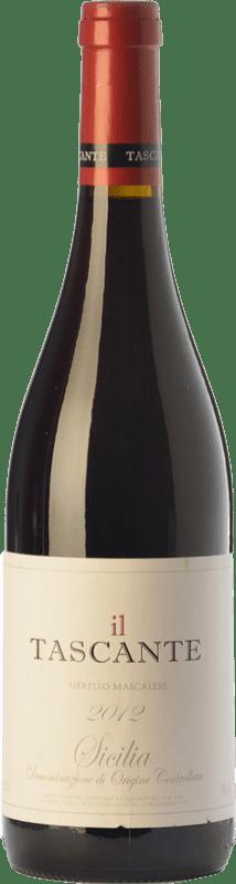 35,95 € Envío gratis | Vino tinto Tasca d'Almerita Tascante I.G.T. Terre Siciliane Sicilia Italia Nerello Mascalese Botella 75 cl