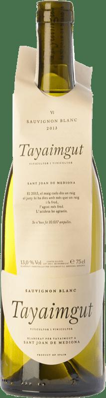 18,95 € Free Shipping   White wine Tayaimgut Blanc Crianza D.O. Penedès Catalonia Spain Sauvignon White Bottle 75 cl