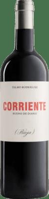16,95 € Envoi gratuit | Vin rouge Telmo Rodríguez Corriente Crianza D.O.Ca. Rioja La Rioja Espagne Tempranillo, Grenache, Graciano Bouteille 75 cl