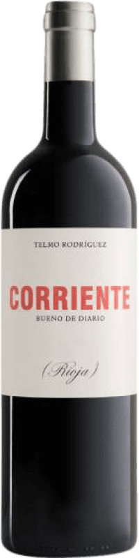 11,95 € Free Shipping | Red wine Telmo Rodríguez Corriente Crianza D.O.Ca. Rioja The Rioja Spain Tempranillo, Grenache, Graciano Bottle 75 cl